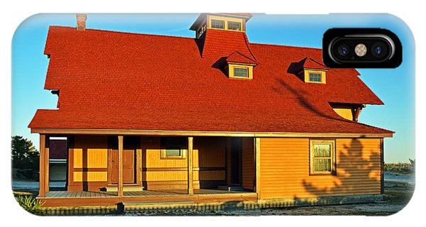 Indian River Lifesaving Station Museum IPhone Case