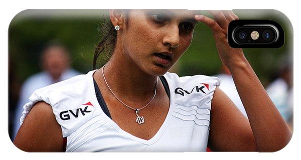 Indian Tennis Player Sania Mirza IPhone Case