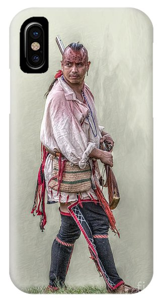 Indian Warrior Two Grand Encampment  IPhone Case