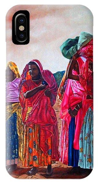 Indian Women IPhone Case