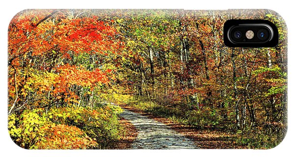 Indiana Back Road IPhone Case