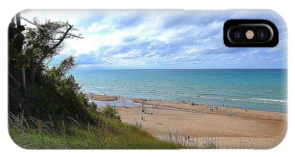 Indiana Dunes Beachscape IPhone Case