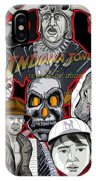 Indiana Jones Temple Of Doom Phone Case by Gary Niles