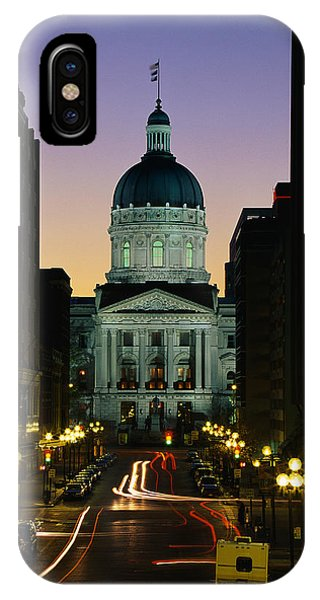 Indiana State Capitol Building IPhone Case