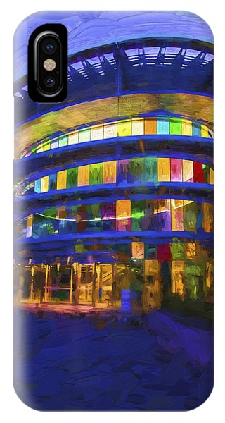 Indianapolis Indiana Museum Of Art Painted Digitally IPhone Case