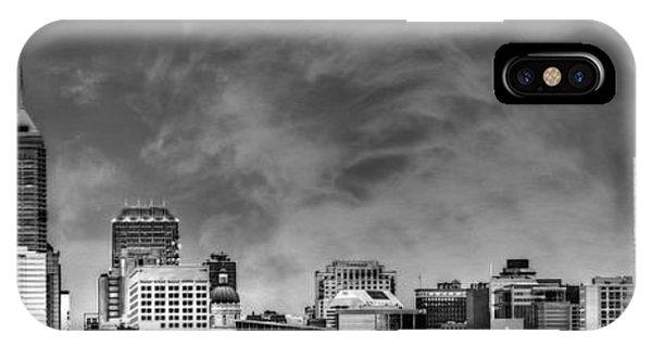 Indianapolis Indiana Skyline 0762 IPhone Case