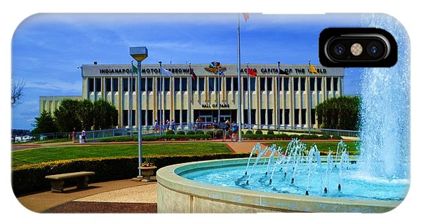 Indianapolis Motor Speedway Museum IPhone Case