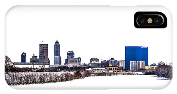 Purdue Boilermakers iPhone Case - Indianapolis White Out by David Haskett II