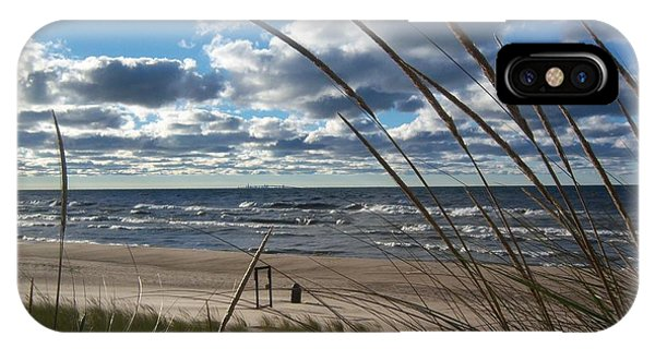 Indiana Dunes' Lake Michigan IPhone Case
