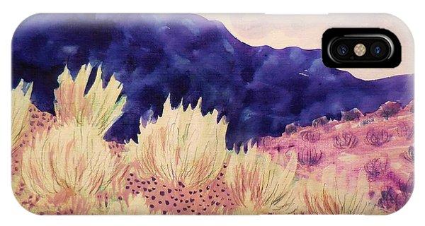 Indigo Mountain IPhone Case