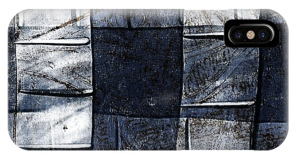 Indigo Squares 2 Of 5 IPhone Case