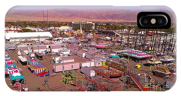 Indio Fair Grounds IPhone Case
