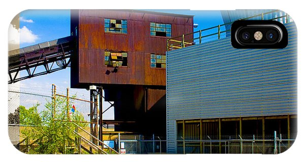 Industrial Power Plant Architectural Landscape IPhone Case