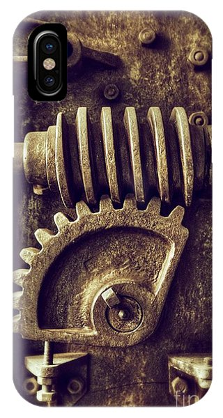Industrial Sprockets IPhone Case