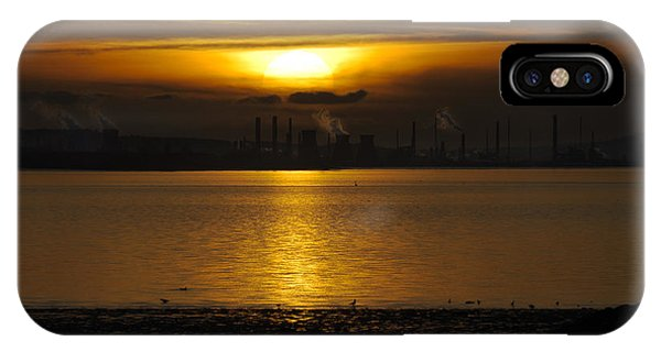 Industrial Sunset IPhone Case