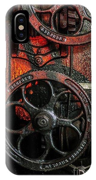 Industrial Wheels IPhone Case