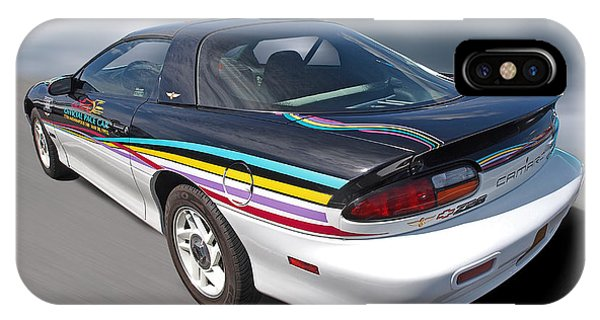 Indy 500 Pace Car 1993 - Camaro Z28 IPhone Case