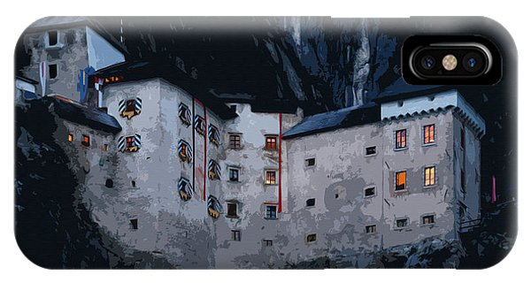 Infamous Jim-jam Predjama Castle IPhone Case