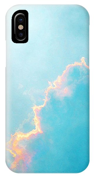 IPhone Case featuring the painting Infinite - Abstract Art by Jaison Cianelli