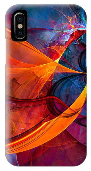 Infinity - Abstract Art IPhone Case
