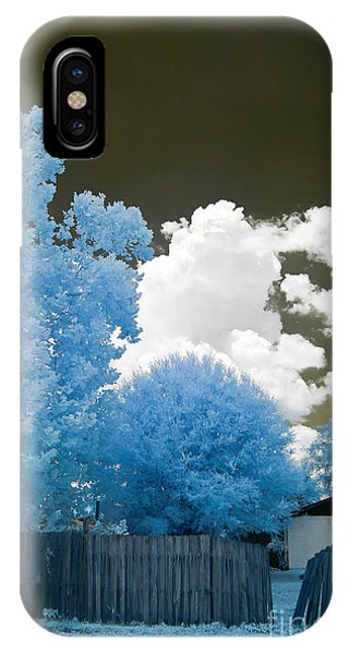 iPhone Case - Infrared Broken Fence by Jared Shomo
