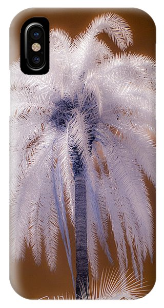 Infrared Palm Tree IPhone Case