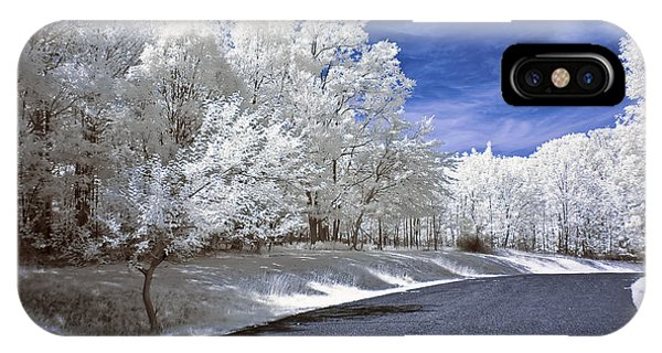 Infrared Road IPhone Case