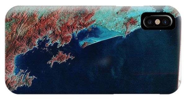 Infrared Satellite Image Of Rio De Janeiro Phone Case by Mda Information Systems/science Photo Library
