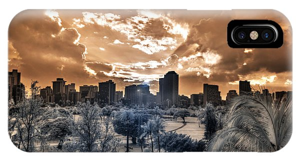 Infrared Sunset IPhone Case