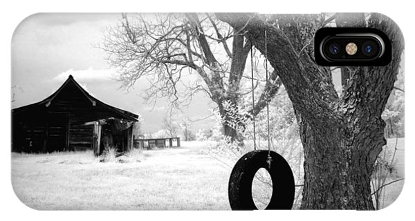Infrared View Of Rural Alabama IPhone Case