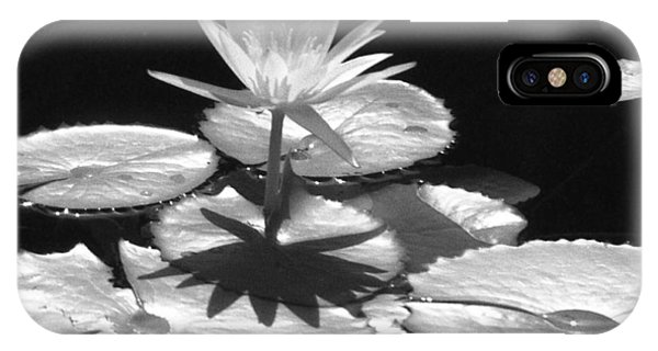 Infrared - Water Lily 02 IPhone Case