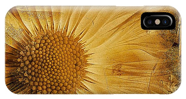 Close Focus Floral iPhone Case - Infusion by John Edwards