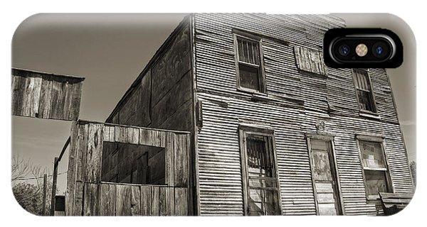 Ok iPhone Case - Ingalls Hotel II by Ricky Barnard