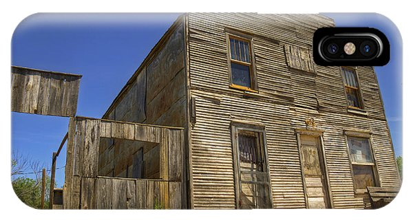 Ok iPhone Case - Ingalls Hotel by Ricky Barnard