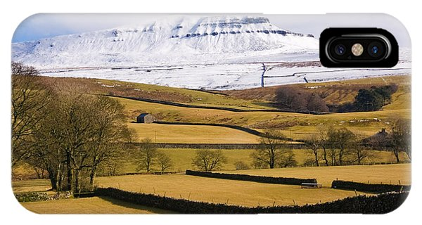 IPhone Case featuring the photograph Ingleborough by Susan Leonard