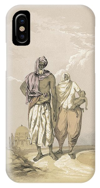 Inhabitants Of Mooltan (aka  Multan) - Phone Case by Mary Evans Picture Library