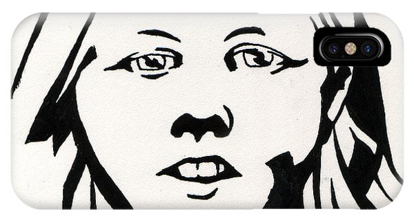 Ink Portrait IPhone Case