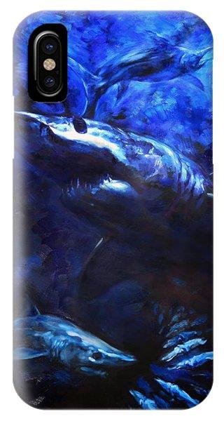 Swordfish iPhone Case - Inky Waters by Tom Dauria
