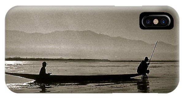 Inle Fishermen IPhone Case