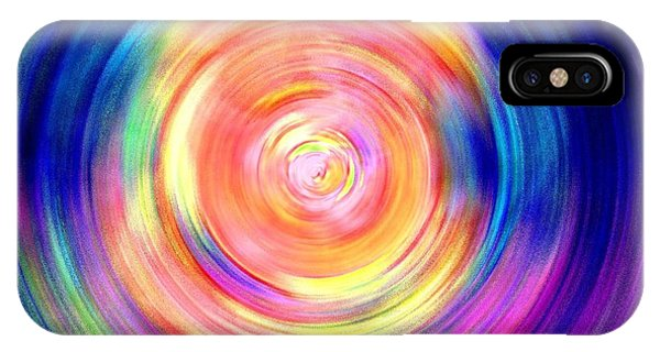 Inner Glow Abstract Art IPhone Case