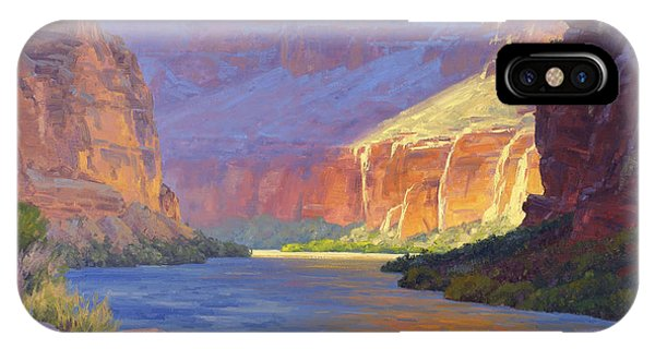 River iPhone Case - Inner Glow Of The Canyon by Cody DeLong