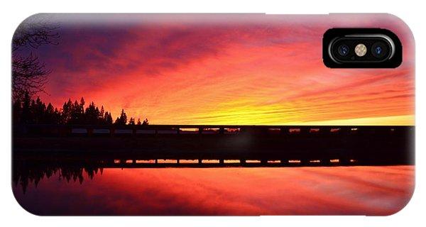 Inner Glow Sunset IPhone Case