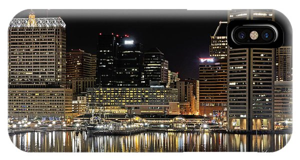 Inner Harbor - Baltimore Maryland IPhone Case