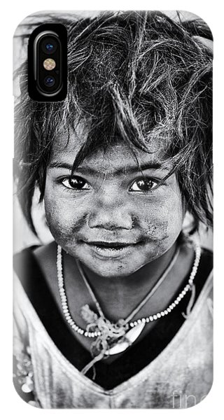 Poverty iPhone Case - Innocence by Tim Gainey