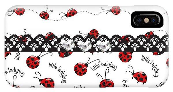 Innocent Ladybugs  IPhone Case