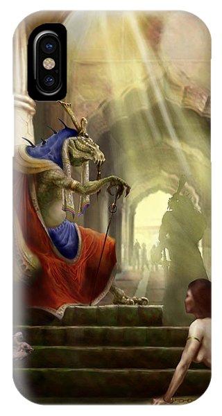 Dungeon iPhone Case - Inquisition by Matt Kedzierski