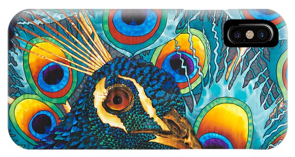 Insane Peacock IPhone Case