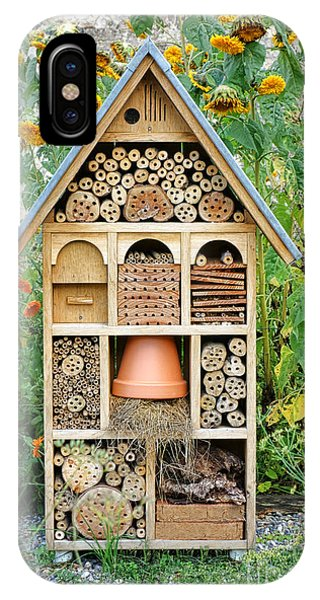 Craftsman iPhone Case - Insect Hotel by Olivier Le Queinec