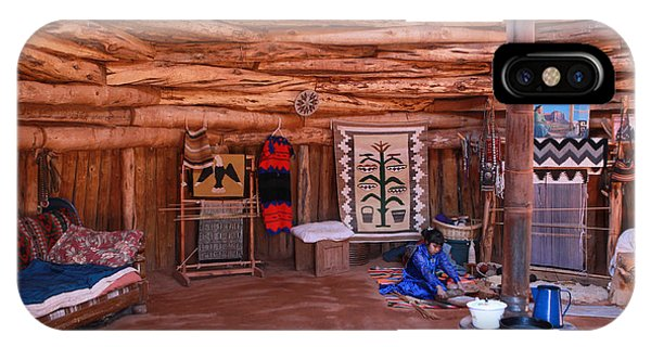 Inside A Navajo Home IPhone Case