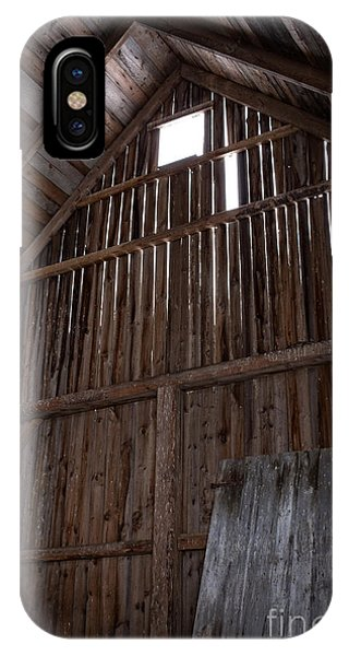 Inside An Old Barn IPhone Case